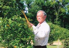 walter managing landscaping