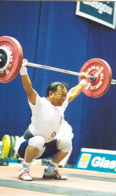 walter lifting weights